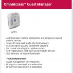 OmniAccess Guest Manager