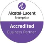 Alcatel Lucent enterprise accredited business partner logo